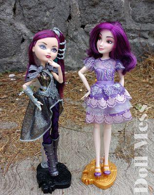 Ever After High Raven Queen Dragon Games & Disney Descendants Mal