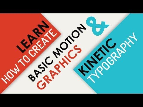 PowerPoint Animation Tutorial Motion Graphics and Kinetic Typography - YouTube