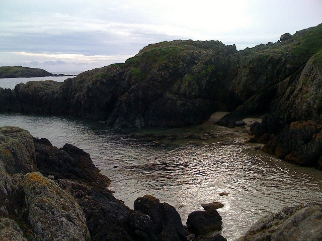 His 'n' hers secret beaches, off Llyn peninsula coastal path, just west of Porth Oer by NoSoma, via Flickr