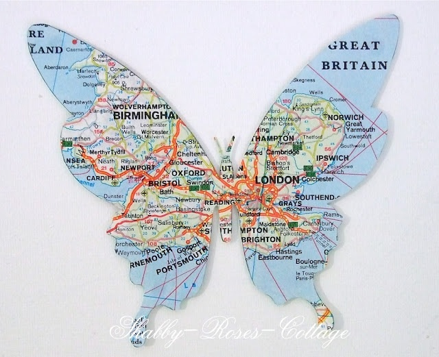 Map critters. this would be a cool way for my daughter the science teacher to display migration paths...  thoughts?