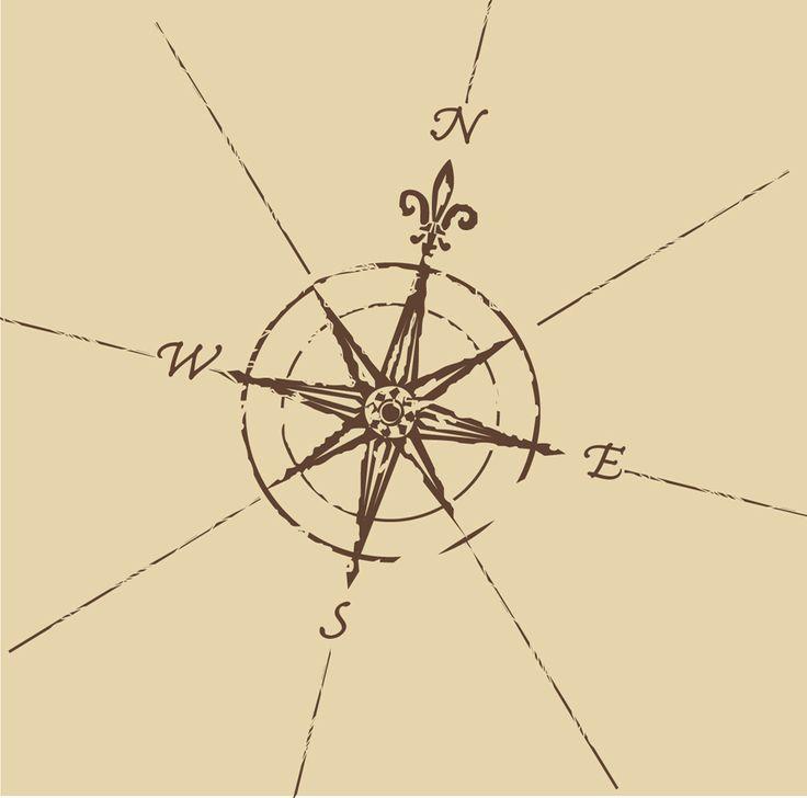 Compass rose: tattoo idea