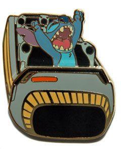 Disney WDI Stitch in Tomorrowland Attractions Space Mountain Pin New | eBay