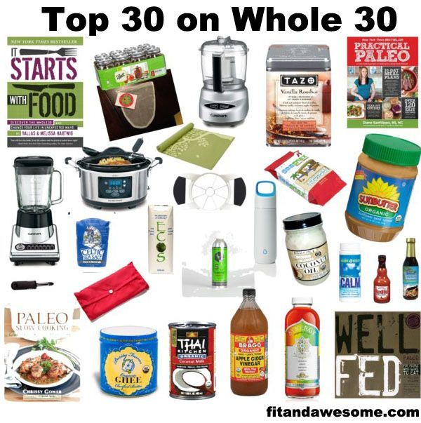 Great products to make Whole30 easy!