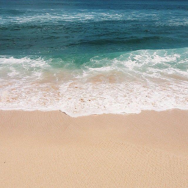 Beautiful clear water with waves! :D  #waves #Blue #Bali #BalanganBeach