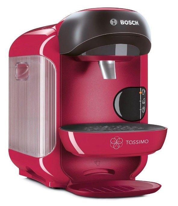La mejor cafetera Tassimo de 2017: Bosch TASSIMO Vivy. La Bosch TASSIMO Vivy es una cafetera de cápsulas muy barata, sencilla de usar y con un mantenimiento realmente sencillo. Tiene una gran varie…