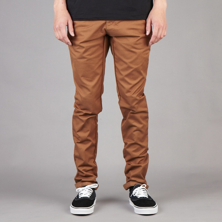 Carhartt Brown Stone Washed Sid Pant