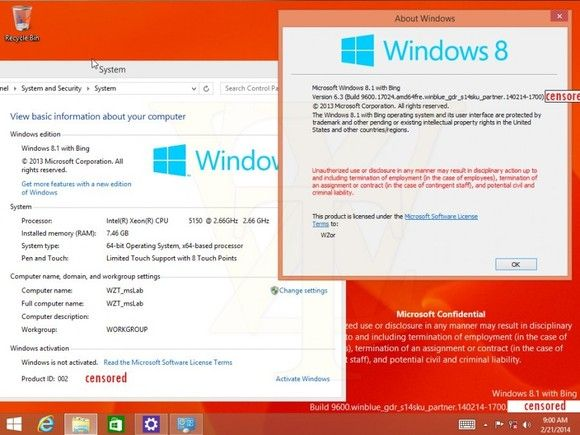 Windows 8.1 with Bing appears to pay for Windows... with Bing   PCWorld