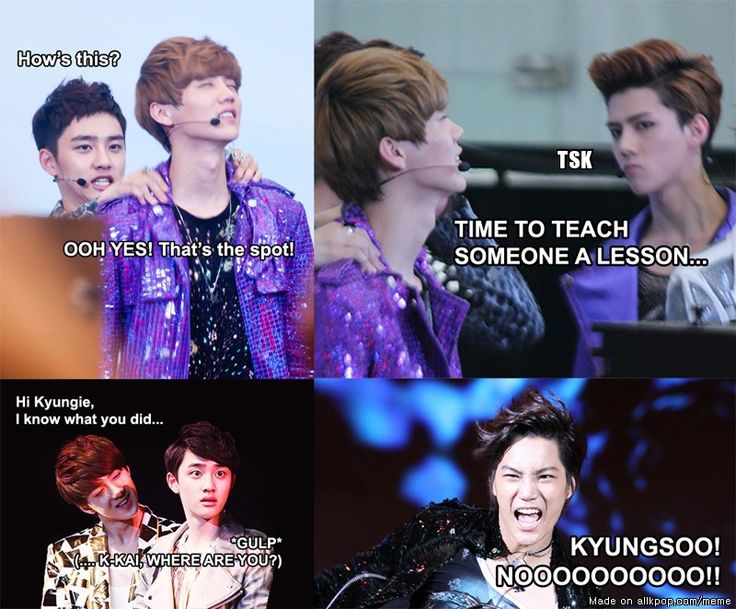 kyungsoo what have you done to HunHan?! x'D