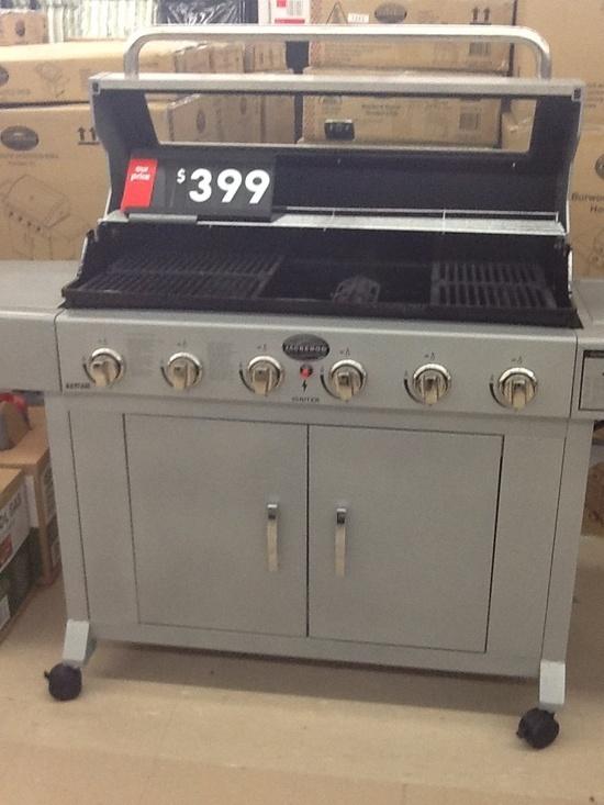 Kelly, Kmart.  BBQ, $399.00
