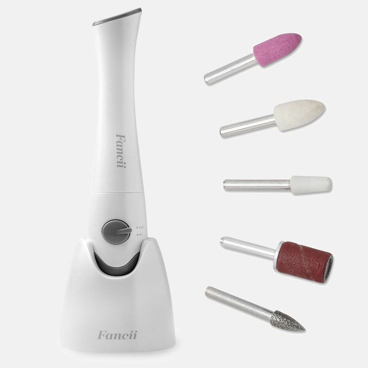 Electric Manicure & Pedicure Set with Stand