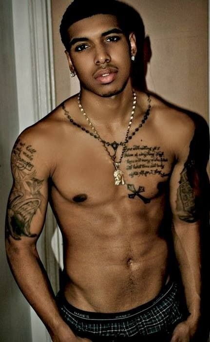 Cute Black Guys  Goodness Gracious  Pinterest  Sexy -3137
