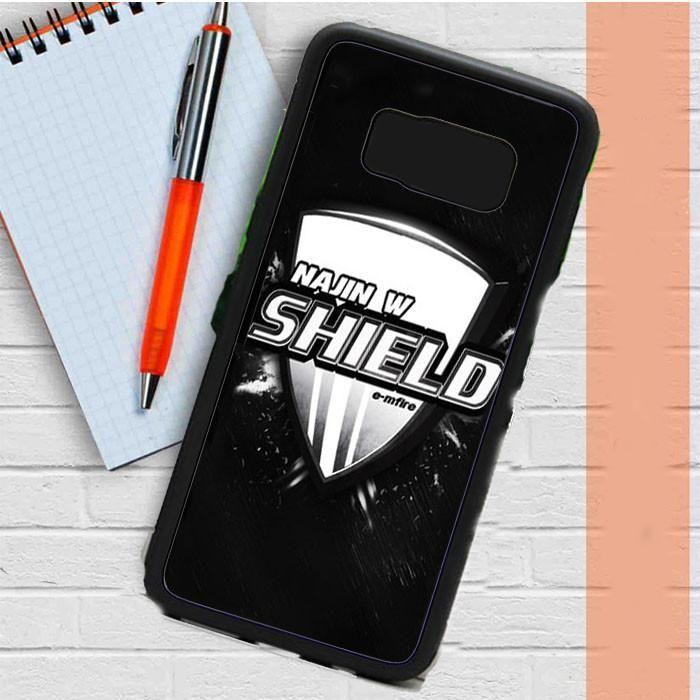 Najin White Shield Logo Samsung Galaxy S8 Plus Case Dewantary