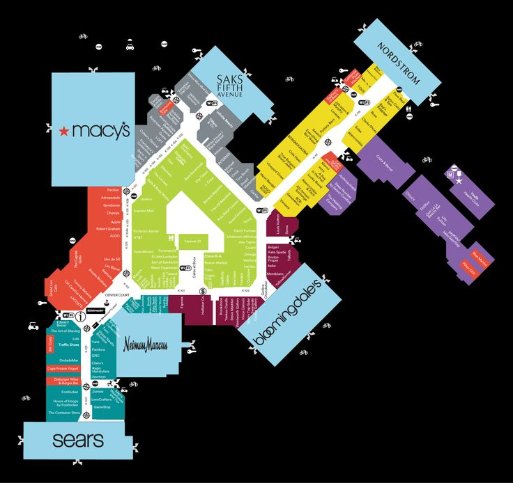 Town Center at Boca Raton, FL | Mall Maps | Shopping