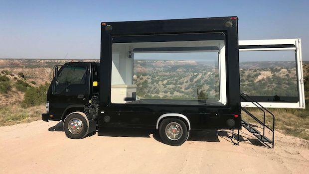 Glass Event Truck Marketing Trailers Vehicles Expvehicles Truck Design Trucks For Sale Trucks