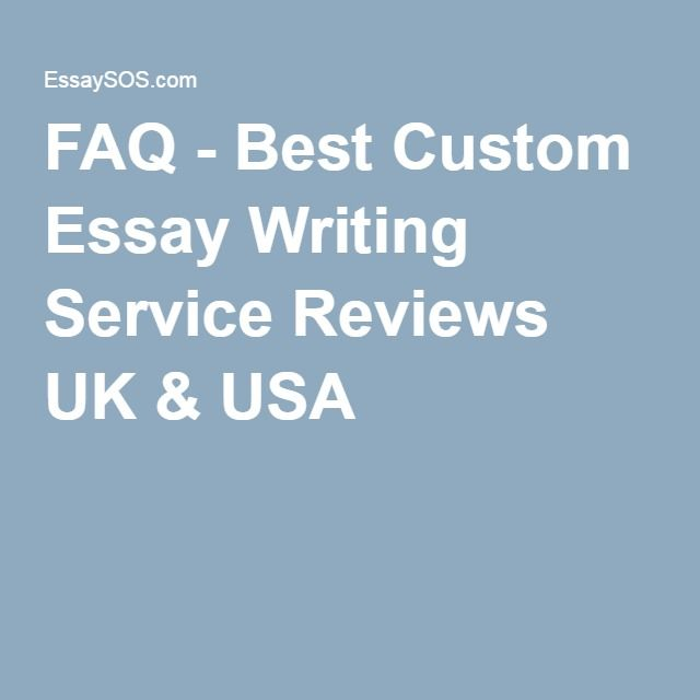 best custom essay writing service reviews Improve your grades with essays24org - best custom service for you only positive reviews from customers we are pleased to complete your custom essay.
