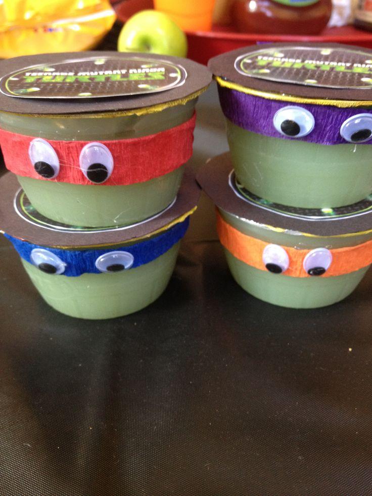 Teenage Mutant Ninja Turtles - applesauce snack.