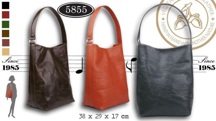 Shoppingväska handväska (5855) via Unika handgjorda väskor i Italienskt läder!. Click on the image to see more!