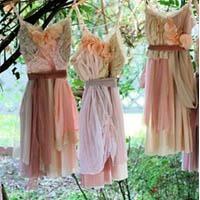 The Perfect Handmade Dress | Dotcoms for Moms: Wedding Dressses, Shabby Chic, Wedding Ideas, Bride Maids Dresses, Flowers Girls, Wedding Photos, Slip Dresses, The Dresses, Cute Bridesmaid Dresses