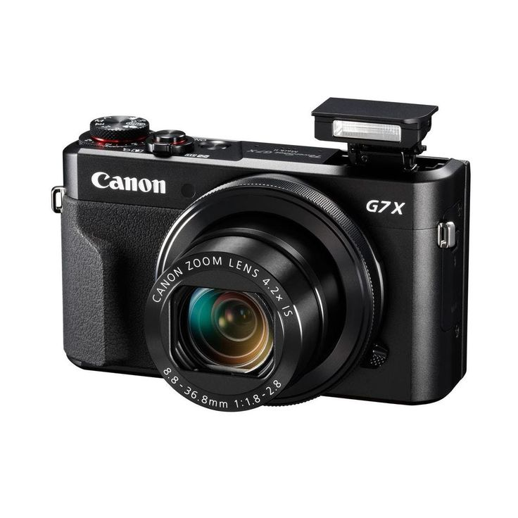 Canon PowerShot G7 X Mark II Digital Point & Shoot Camera by Canon