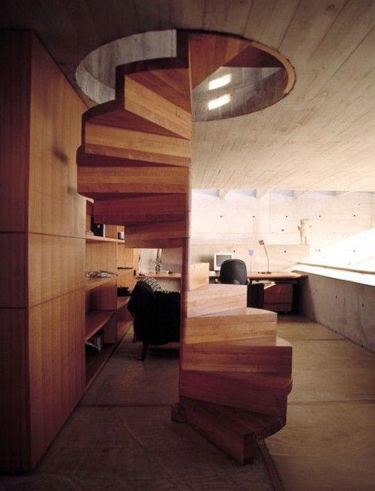 M s de 1000 ideas sobre escalera caracol en pinterest for Escaleras de madera decoracion ikea