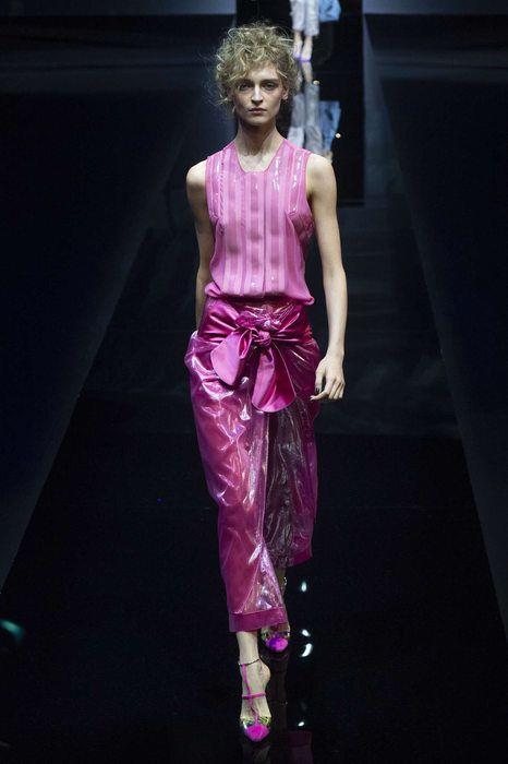 Giorgio Armani, Primavera/Estate 2019, Milano, Womenswear Giorgio Armani,  Moda Alta