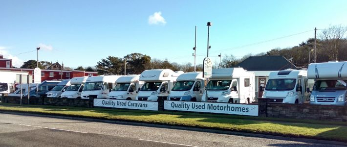 Eden Motorhomes & Caravans, Scorrier, Cornwall, England. In 2017 Eden Motorhomes & Caravans will be starting its 13th year of trading. Yet, in late October 2015, Eden Motorhomes and Caravans was taken over by Joe Lyne. A former national sales manager with the largest motorhome and caravan dealer network in the UK.
