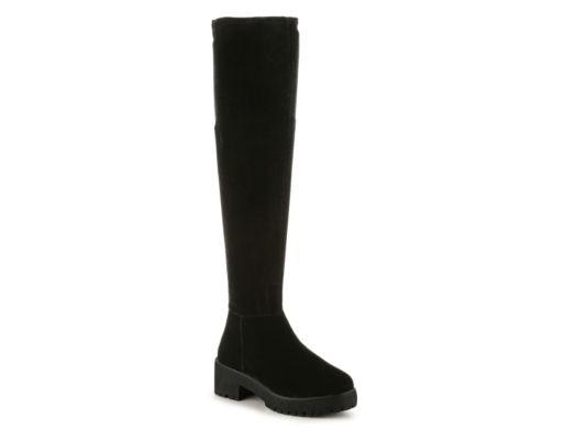 Women's Coolway Bombi Over The Knee Boot - Black