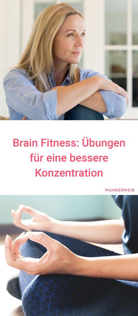 Brain Fitness: Übungen für eine bessere Konzentration
