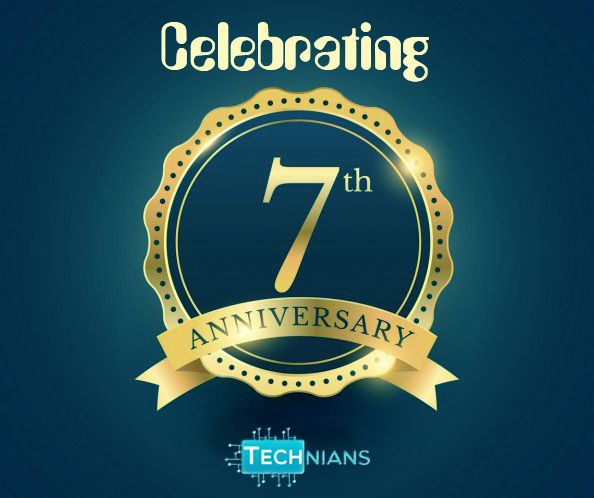"""In order to succeed we must first believe that we can"" Technians Celebrating 7th Anniversary Thanks to our partners and associates who helped us in achieving our goals. #technians,#Celebrating,#7th Anniversary"