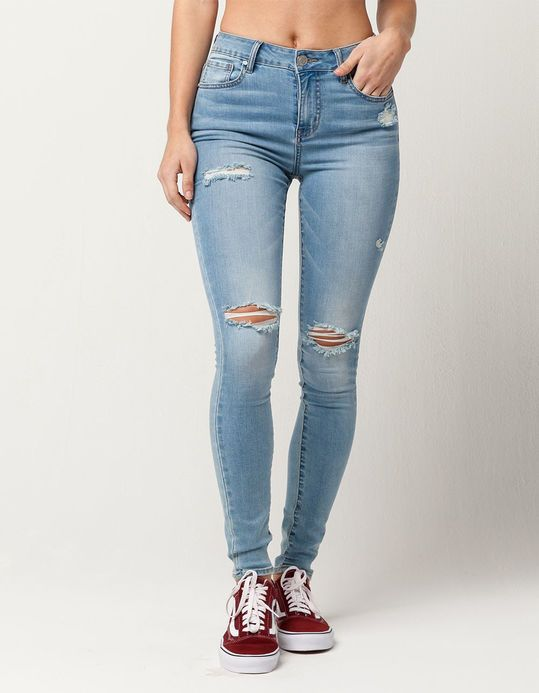 dc528fb39 RSQ Manhattan High Rise Womens Ripped Skinny Jeans | outfits for ...