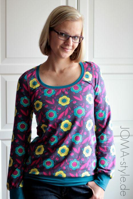 Mamacita Schnittmuster Damen Shirt Kleid Jersey farbenmix