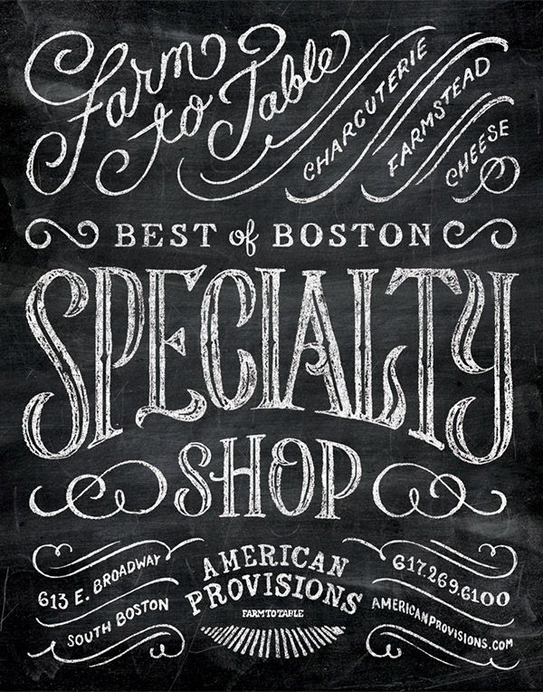 Typographic Designs by Dan Gretta | From up North