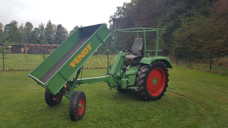 Fendt GT 250 Traktor Schlepper Bulldog Geräteträger Pritsche | eBay