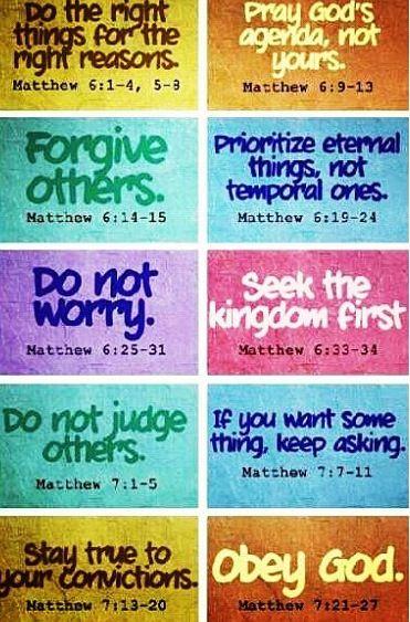 Praise! Sing, trust, obey.....