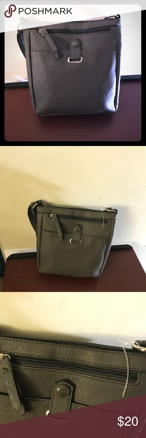 Grey crossbody purse Cute.crossbody purse. New! Please feel free to ask any questions. rossi Bags Crossbody Bags