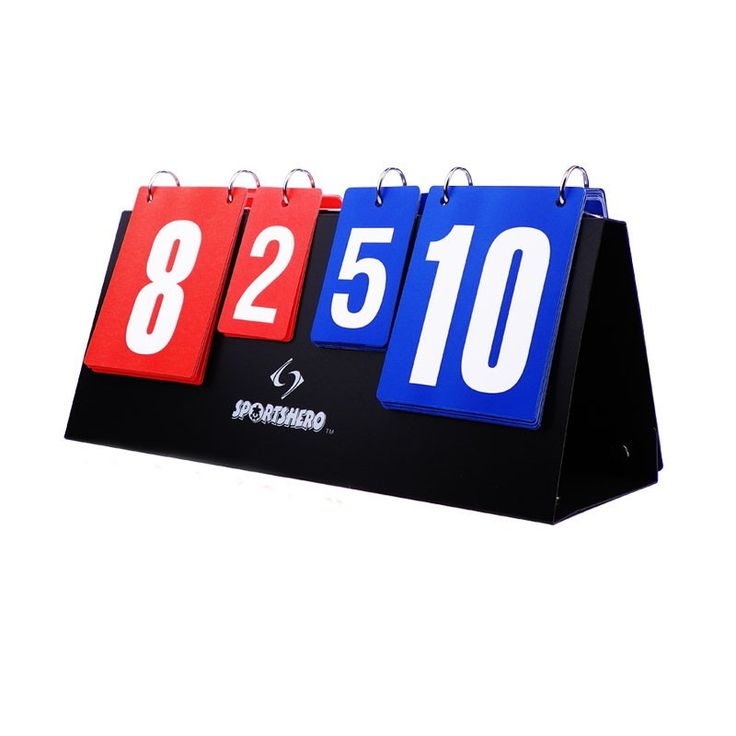 JUNRUI Portable Basketball Score Board 4 Digit Sports Scoreboard for Volleyball Table Tennis Handball Badminton Scoring JFP01 Click visit to check price #basketball