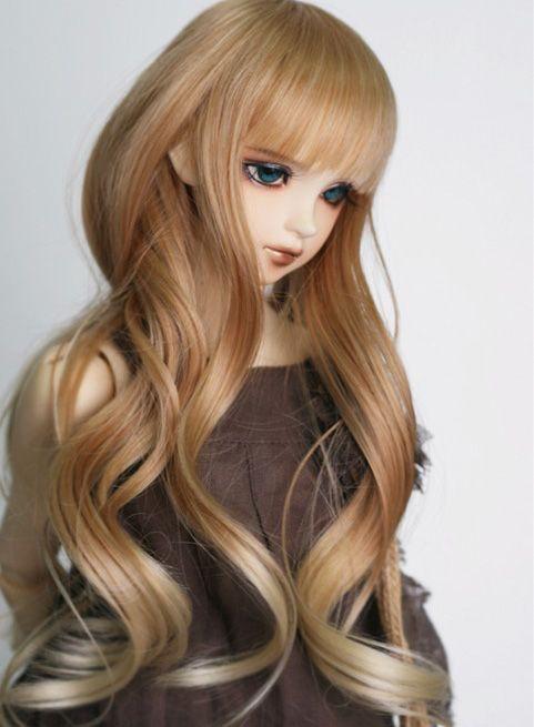 Bjd sd doll hair