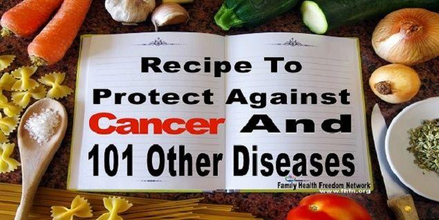 Συνταγή υγιείας Cancer And 101 Other Diseases