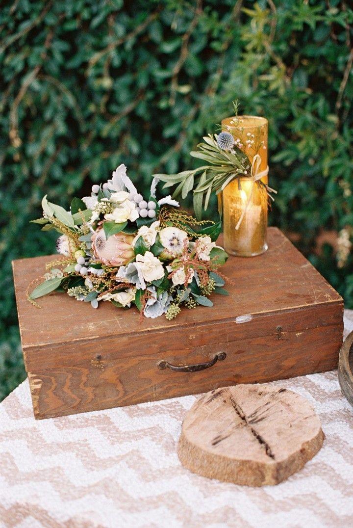 wedding guestbook table idea; Photo: Lane Dittoe