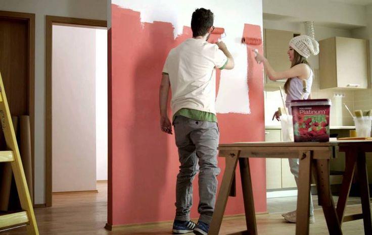 Népszerű pasztellek élénk színek kreatív kísérletezés a falfelületek színeiben mintázatában