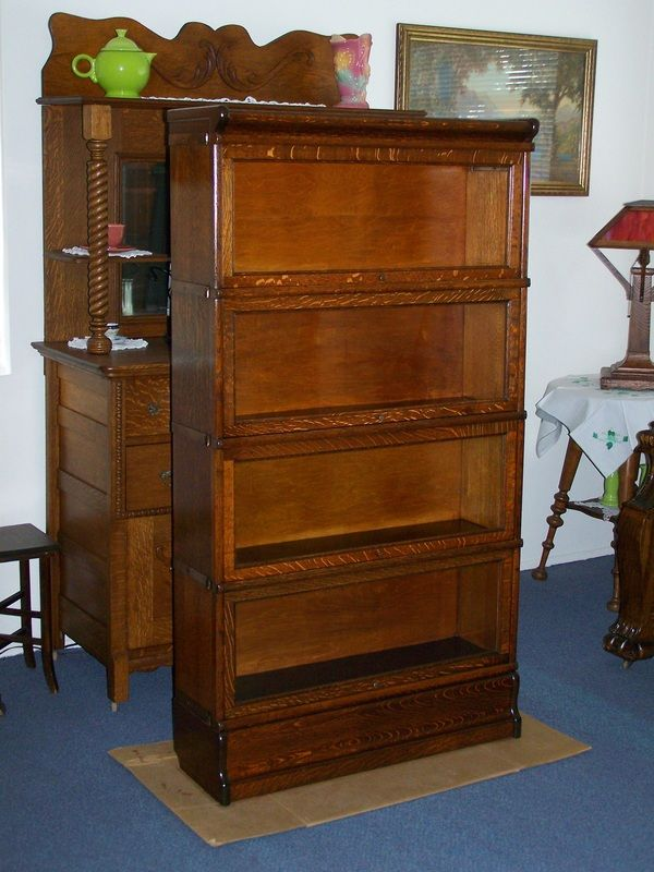 7 Best Antique Lawyer Barrister Bookcases For Sale Images