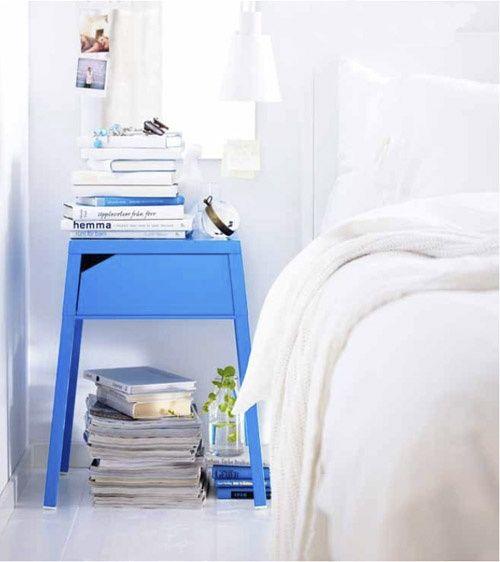 Die besten 25+ Blaue nachttische Ideen auf Pinterest Nachttisch - attraktive nachttische moderne schlafzimmer