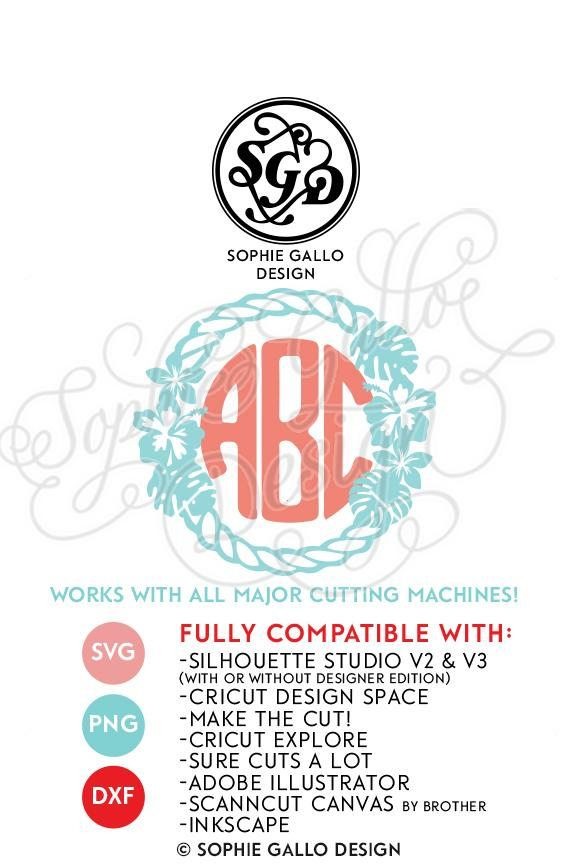 Nautical Beach Frame SVG DXF PNG digital download files for Silhouette Cricut vector clipart graphics Vinyl Cutting Machine, Screen Printing