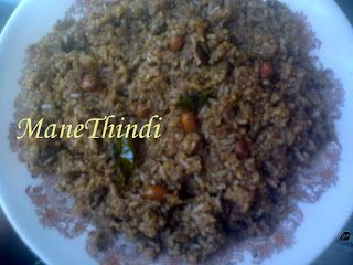 Pure Veg Recipes from ManeThindi!: PULIYOGARE GOJJU RICE