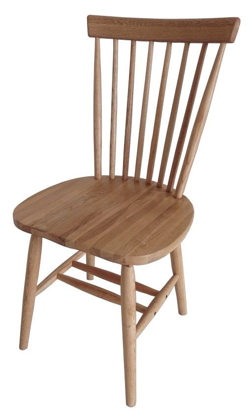 Rib Dining Chair - Oiled Oal | pr home