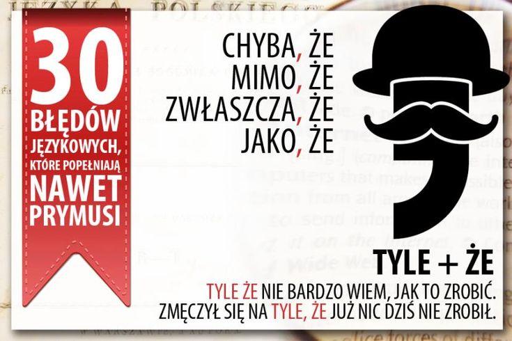 30 błędów językowych, które popełniają nawet najlepsi - zdjęcie 1 - Polityka.pl
