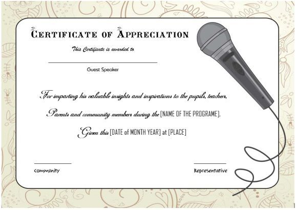 Certificate of appreciation for employees Thank you certificates - certificate of appreciation