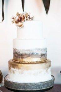 awesome 49 Gorgeous Winter Wedding Cakes Ideas Trends in 2017 https://viscawedding.com/2017/11/12/49-gorgeous-winter-wedding-cakes-ideas-trends-2017/
