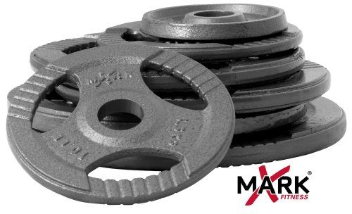 XMark Fitness Hammerstone Gray Olympic Weight Set (355 -Pounds) - http://www.healthymagpa.com/xmark-fitness-hammerstone-gray-olympic-weight-set-355-pounds/