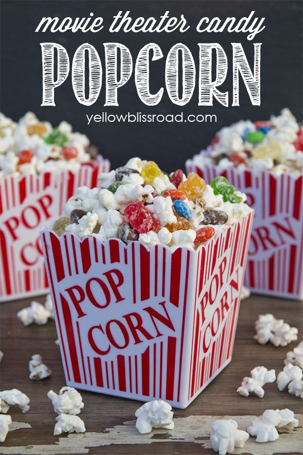 Movie theater candy and popcorn together at last - why should you have to choose?